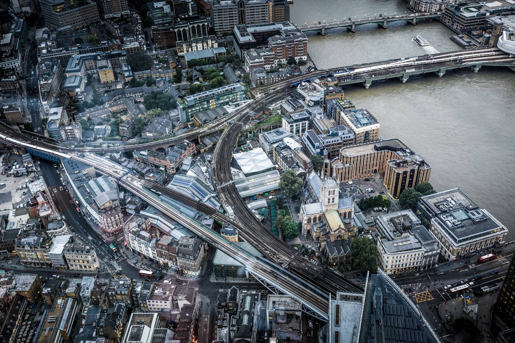 London, Southwark, View from the Shard